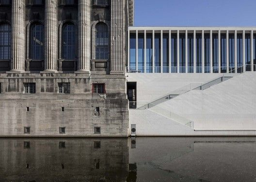 James Simon Galerie Connection With Pergamon Museum Image C Ute Zscharnt For David Chipperfield Archite David Chipperfield Architects Museum Island New Museum