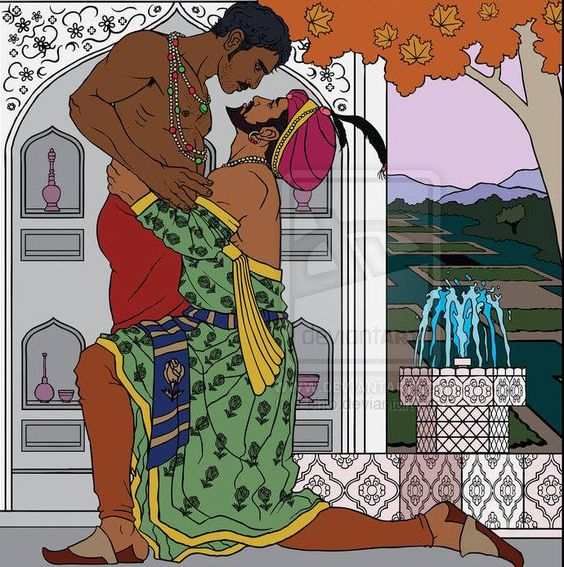 In Persian old literature homosexuality was highly popular in poems and novel, even some of the most great Iranian poets have MANZUMEH (a type of poem which is usually very long and tells a complete story, like a novel but in poem format) which their main characters are two men in love.