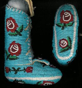 American indians indian native american babies floral style