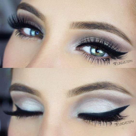 lindasteph looks gorgeous in these shades from the Essential Eyes - 28 Color Eyeshadow Palette!