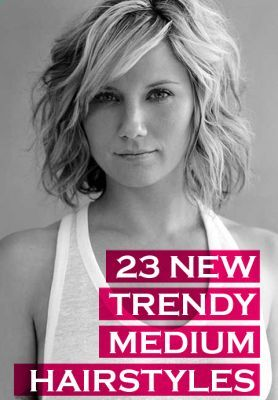 23 New Trendy Medium Hairstyles                                                                                                                                                      More                                                                                                                                                     More