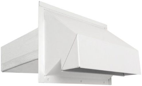 Imperial 3 1 4 X 10 R2 Premium Range Exhaust Hood White Vt0500 Heating Vents Amazon Com Exhaust Hood Imperial Home Decor