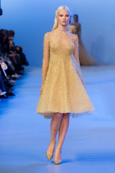 Elie Saab at Couture Spring 2014