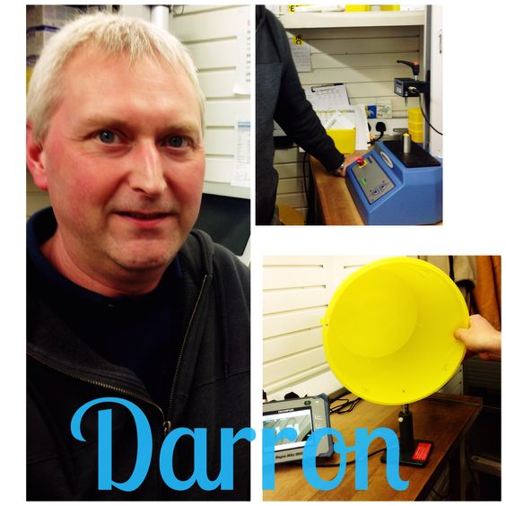 And here is Darron - Our Quality Inspector......yeap! 2 years in our team at Daniels. He measures, weighs, examines and tests samples of our products. He makes sure that everything from raw materials to finished products meets quality and safety standards. As a quality inspector. Darron works very closely with his Quality Assurance manager - Marc, and Patricia - Quality Engineer, assisting with audits etc.