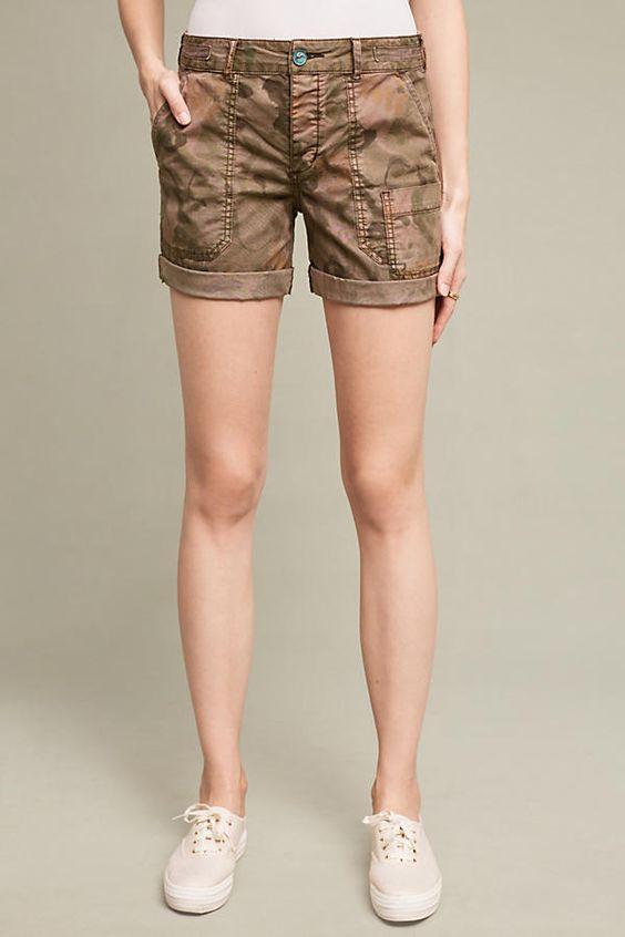 Slide View: 2: Wanderer Printed Shorts