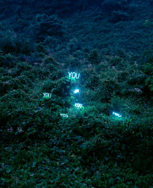 Light Installations by Lee Jung