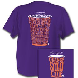 Orange Solo Cup Shirt! Also comes in navy!