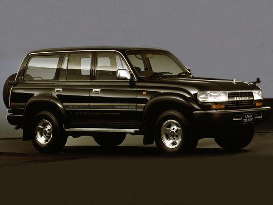 "Toyota Land Cruiser 80 ""Special Package"" (HDJ81V) '1993"