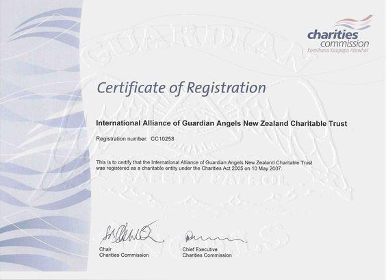 Certificate (med res) Guardian angel