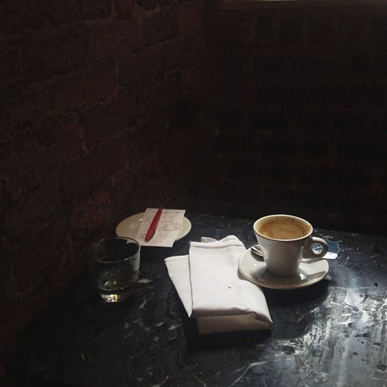 coffee at Buvette / photo by Alice Gao
