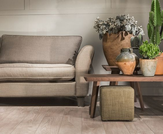Sofa, bank, salontafel, salon, poef, interieur, inspiratie ...