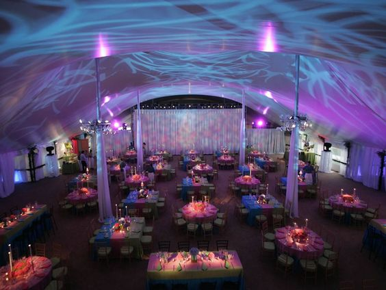 cool lighting  Summer Party Montage   Rafanelli Events