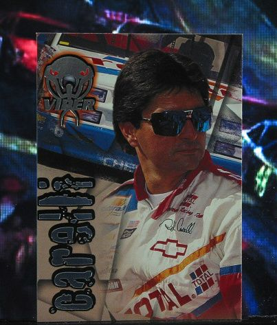 http://nascarniche.blogspot.com/  Rick Carelli Truck Series 1996 Wheels Viper Trading Card #68 Base Set Nascar