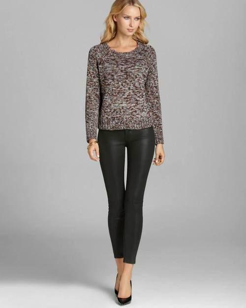Looking styligh in a Kurke Knit Sweater
