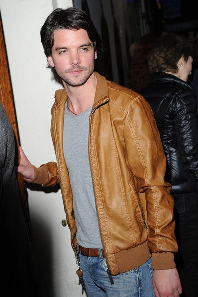 Andrew Lee Potts arriving for Our Boys.