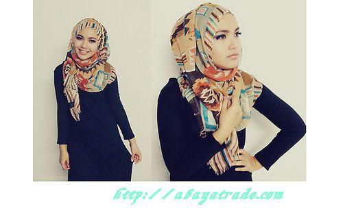 htttp://abayatrade.com muslim fashion magazine  2013 chic asbayat with unique design