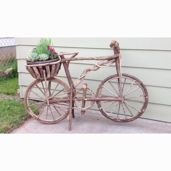 Wooden bike from guadalajara
