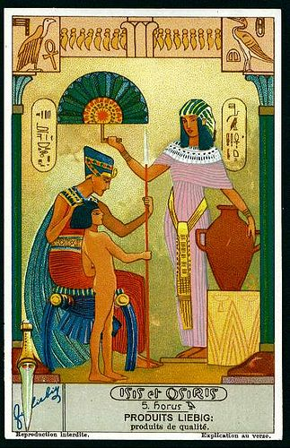 Liebig Tradecard S1280 - Isis & Osiris #5 | Flickr - Photo Sharing!