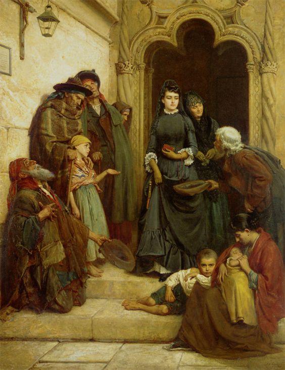 John Bagnold Burgess, The Church Door (Spain)