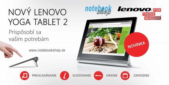 Lenovo Yoga Tablet 2 - Yoga Tablet 2 so 4 režimami – držanie, Naklonenie, Stojan a Zavesenie. Yoga Tablet 2 Pro naviac s QuadHD LCD, projektorom a špičkovým zvukom JBL.