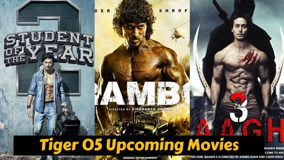 Tiger Shroff Upcoming Movies List 2018 2019 2020 Cat And Release Date Upcoming Movies Tiger Shroff Movies