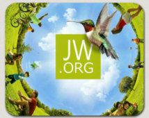 Jehovah Witness JW.ORG #1 Mouse Pad