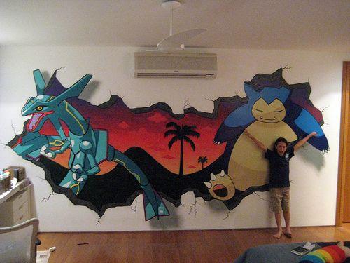 Pokemon Mural