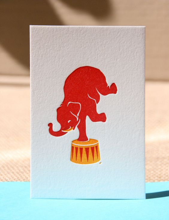 Letterpress dutch design. €3,75, via Etsy.