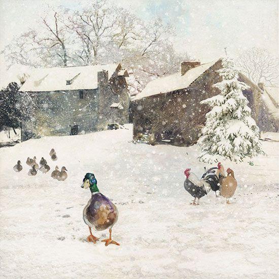 Hangolódj velünk a télre ezekkel a gyönyörű téli festményekkel