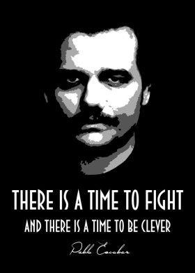 Pablo Escobar Mancave Poster Print Metal Posters
