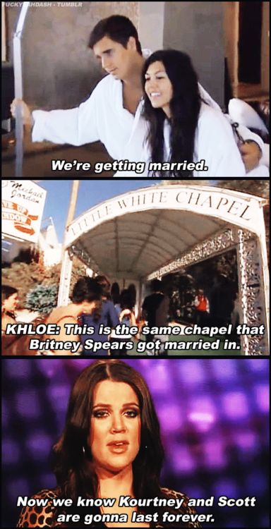 I don't really like Keeping Up With The Kardashains, but Khloe is hilarious!LOL