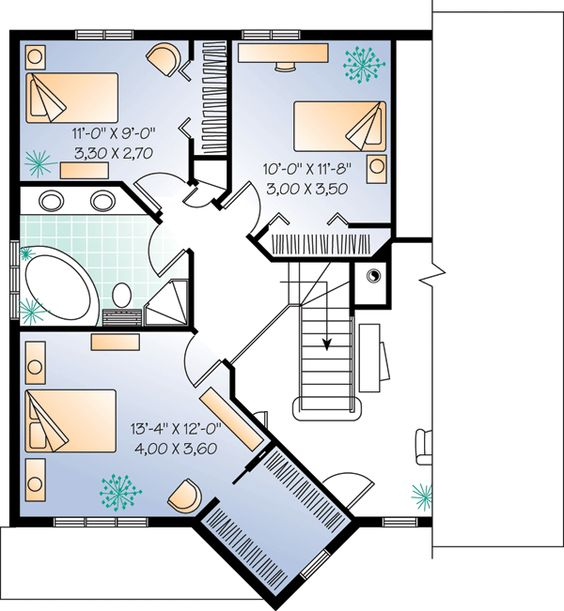 Contemporary european house plans House plans