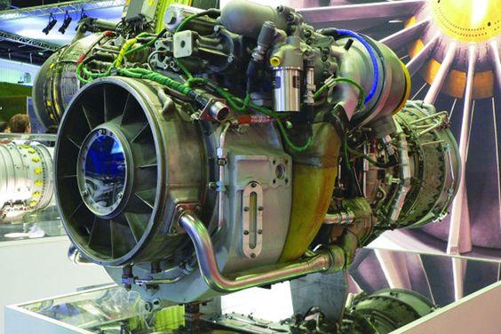 Motor a jato do caça F-5EM, uma das peças da coleção (FAB)