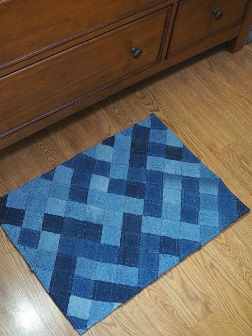 How To Make A Woven Throw Rug Out Of