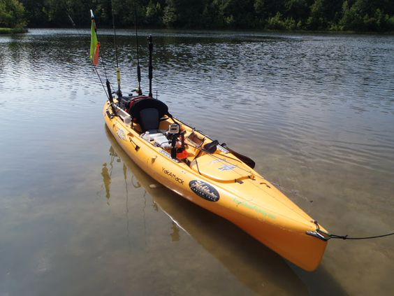 how to fishing from a kayak