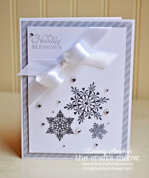 Pretty Snowflake Card