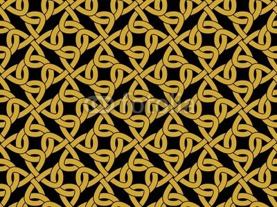 Vector: celtic knotwork - seamless pattern