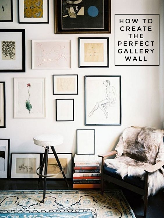how to create the perfect gallery wall Dustin Peyser DustinPeyser.com DustinPeyser@kw.com San Diego County Realtor: