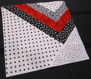 Hills Creek Quilter: SMS BOM. One of twelve blocks, but this is my favorite. Wonder how it would work to make a bunch of these and arrange them? =) Graph paper, here I come!