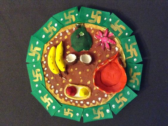 Learn to make this decorative thamboolam arathi plate for Arathi thattu decoration