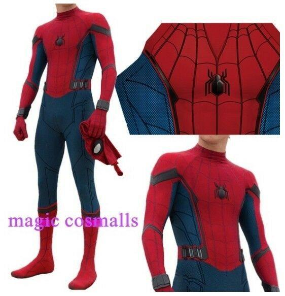 Venom Super Hero Cosplay Jumpsuit Costume Suit Unisex Masquerade Spiderman Tight