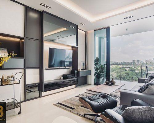 The Crest Contemporary Interior Design Contemporary Interior Condominium Design