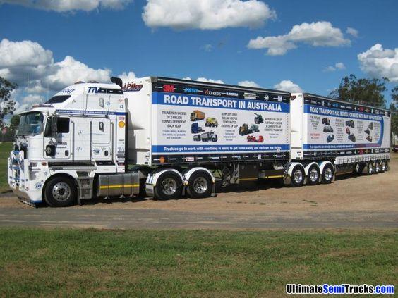 TRUCKRIGHT Industry Vehicle K200 Kenworth Rod Pilon ...
