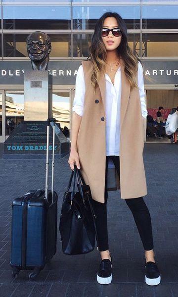 Look Aeroporto: Colete
