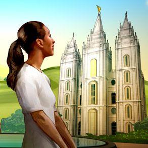 moça do Templo