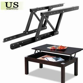 Details About 1pair Top Coffee Table Furniture Mechanism Lift Up Hardware Fitting Spring Hinge Furniture Hinges Coffee Table Furniture Furniture Design