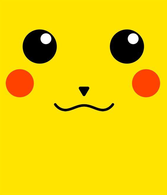 Camiseta Ni 241 O Pokemon Pikachu Silueta Cara Gatos Pikachu Y Fotos De Pokemon