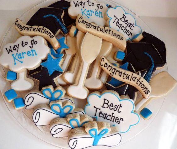 Gratuation Cookies
