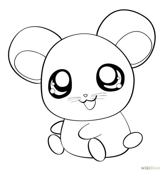 Image Result For Cute Animation Animals Black And White Cute Cartoon Drawings Animal Drawings Cartoon Drawings