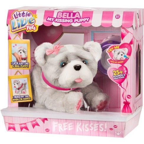 Little Live Pets Bella My Kissing Puppy Target Little Live